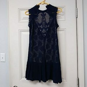Womens Size XS Skies are Blue Dress